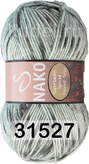 Пряжа NAKO SUPERLAMBS SPECIAL TWEED NEW