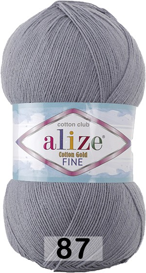 Пряжа Alize COTTON GOLD FINE